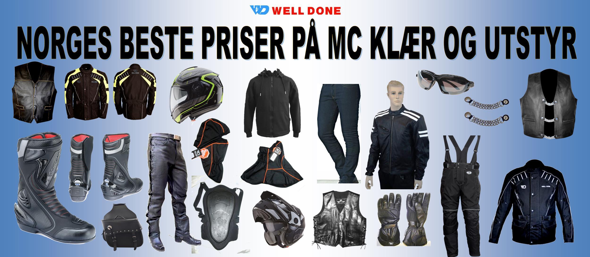 MC KLÆR OG UTSTYR FOR BARN HELD OG CABERG | FINN.no